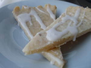 Lavender and Honey Shortbread